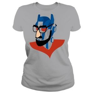 """Busted Tees """"Robots in Disguise"""" Size Medium"""